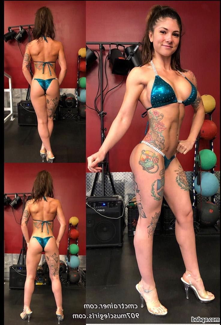 cute female bodybuilder with strong body and muscle bottom pic from linkedin