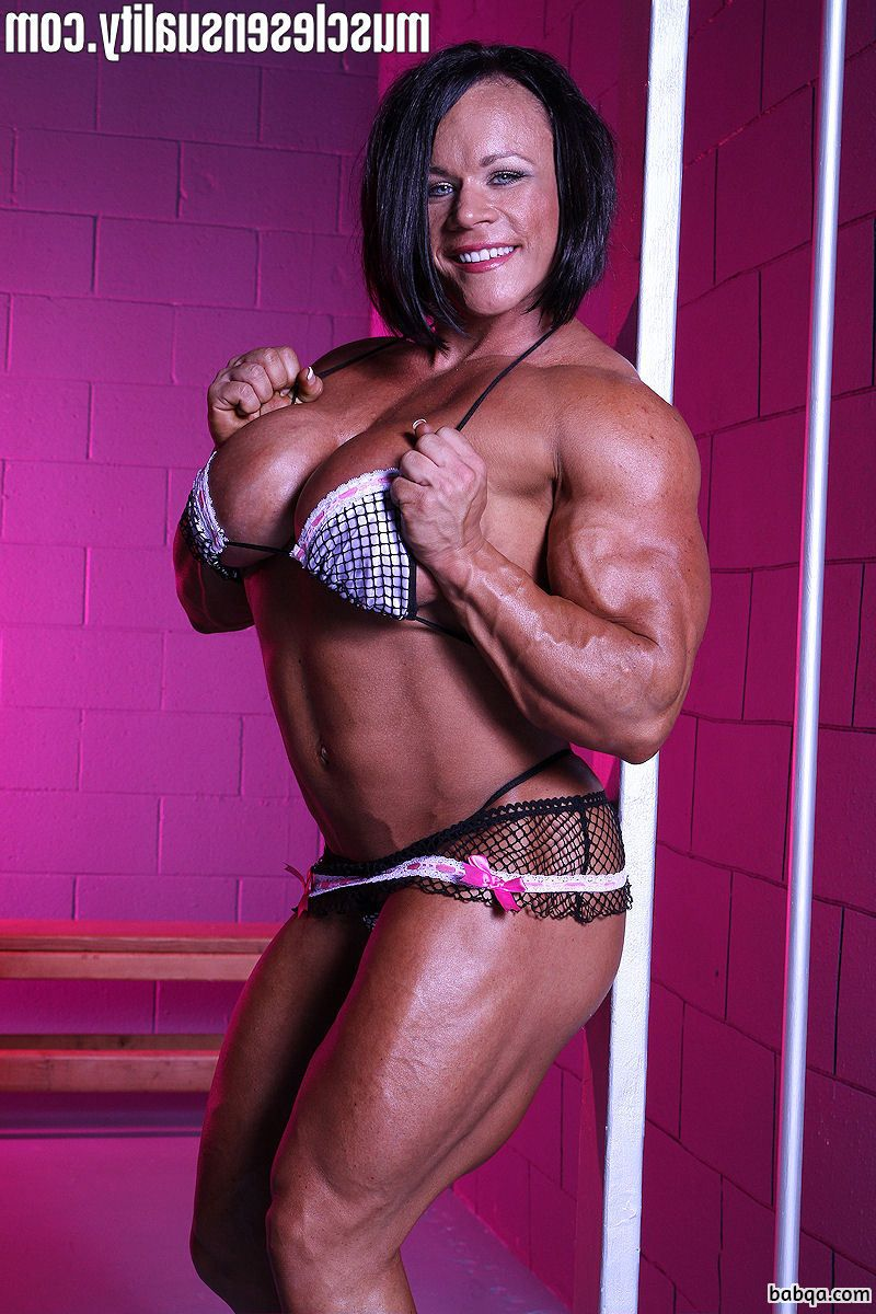 perfect girl with strong body and toned biceps photo from tumblr