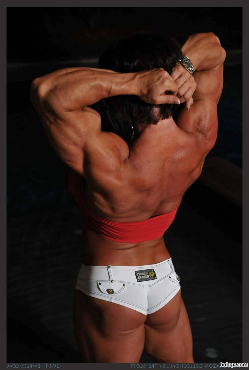 sexy lady with strong body and muscle booty image from linkedin
