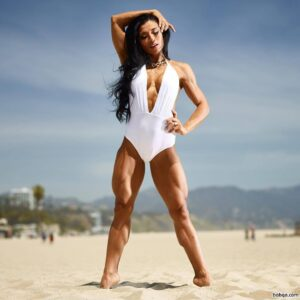 hottest female with muscular body and muscle arms post from tumblr