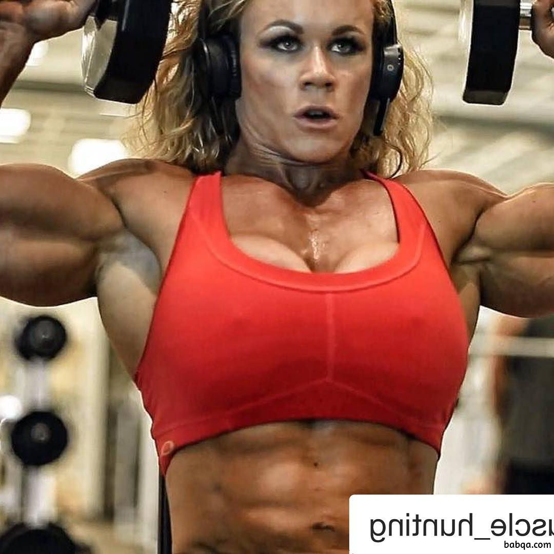 sexy woman with strong body and toned arms pic from facebook