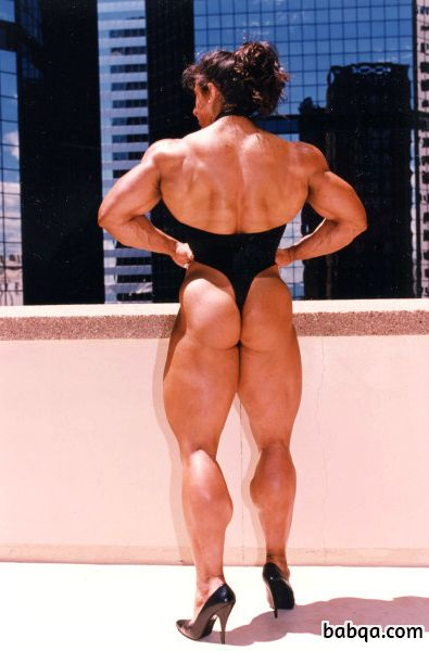 hottest chick with muscle body and muscle biceps photo from linkedin