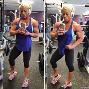 perfect lady with muscular body and toned bottom picture from tumblr