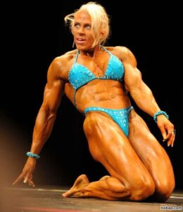 perfect lady with muscle body and toned bottom repost from flickr
