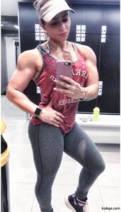 hot female with muscular body and muscle ass repost from reddit