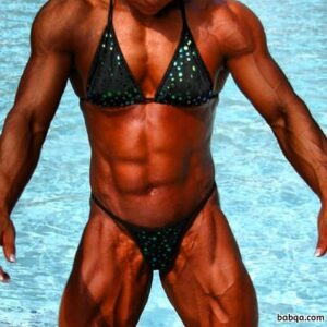 hottest female bodybuilder with muscle body and muscle biceps repost from g+