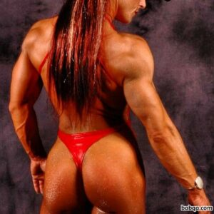 perfect female bodybuilder with muscular body and muscle ass pic from tumblr
