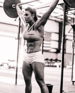 hot babe with strong body and muscle legs picture from linkedin