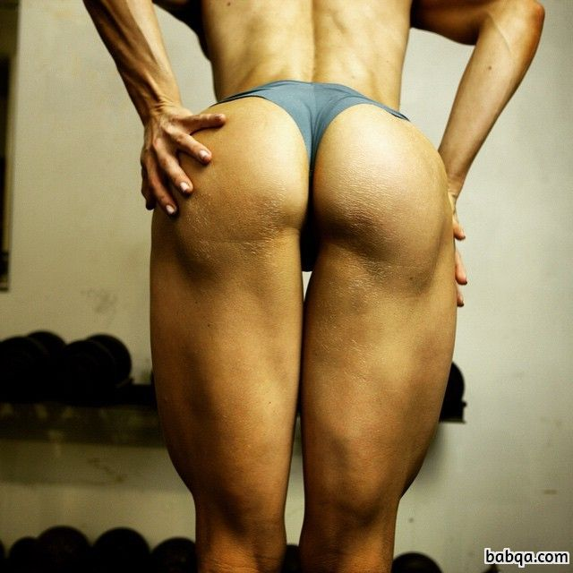 spicy female with fitness body and muscle booty post from flickr