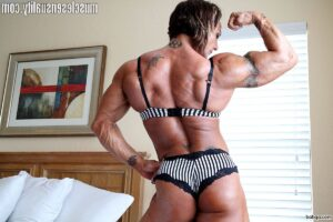 sexy female bodybuilder with fitness body and muscle ass photo from flickr