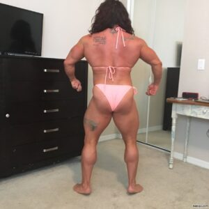 hottest lady with strong body and muscle legs picture from tumblr