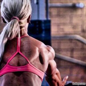 awesome lady with muscle body and muscle bottom repost from linkedin