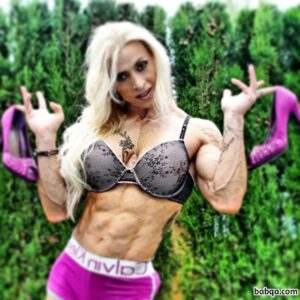 awesome female with fitness body and toned bottom repost from tumblr