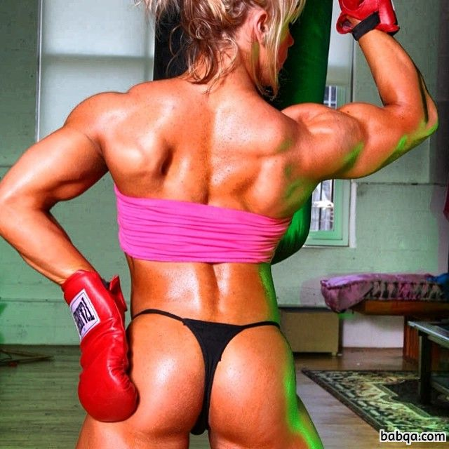 perfect chick with strong body and toned bottom post from reddit