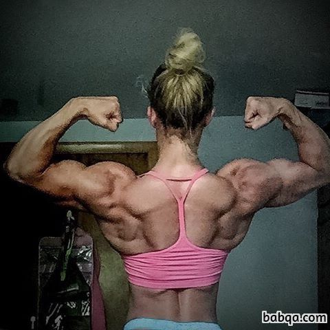 cute female bodybuilder with strong body and muscle legs repost from linkedin