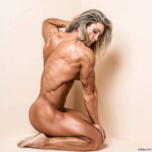 hottest girl with fitness body and muscle legs photo from facebook
