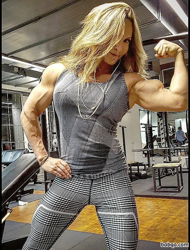 hottest girl with muscle body and muscle booty pic from tumblr