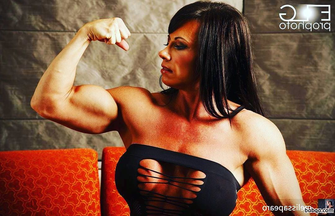 spicy chick with muscle body and toned arms pic from tumblr