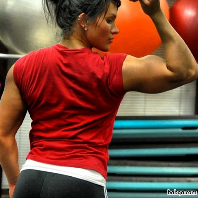 spicy woman with muscular body and toned booty image from flickr