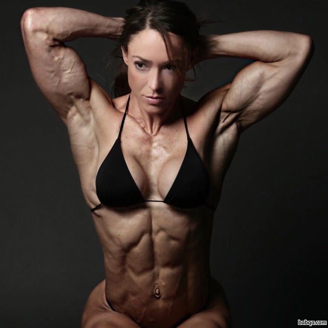 hottest girl with strong body and muscle bottom pic from g+