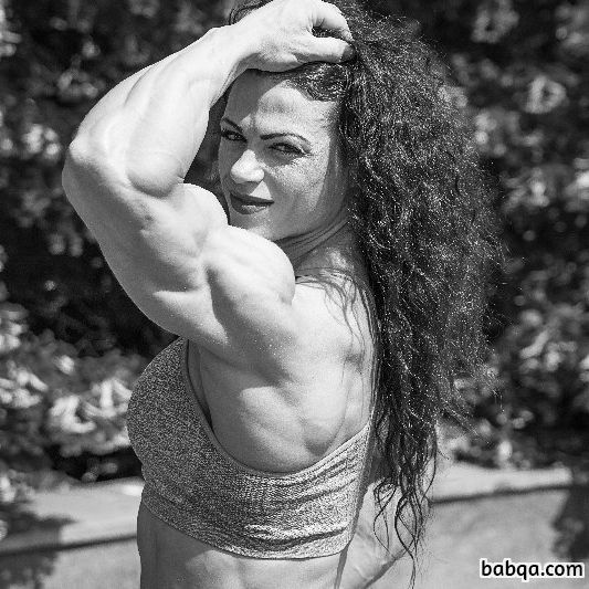 spicy woman with muscle body and toned arms photo from flickr
