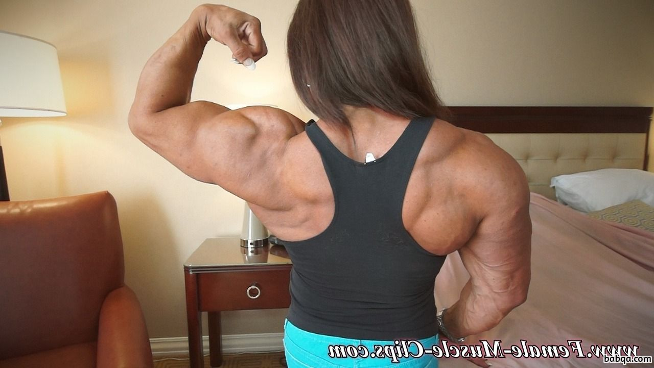 beautiful babe with muscular body and muscle booty picture from g+