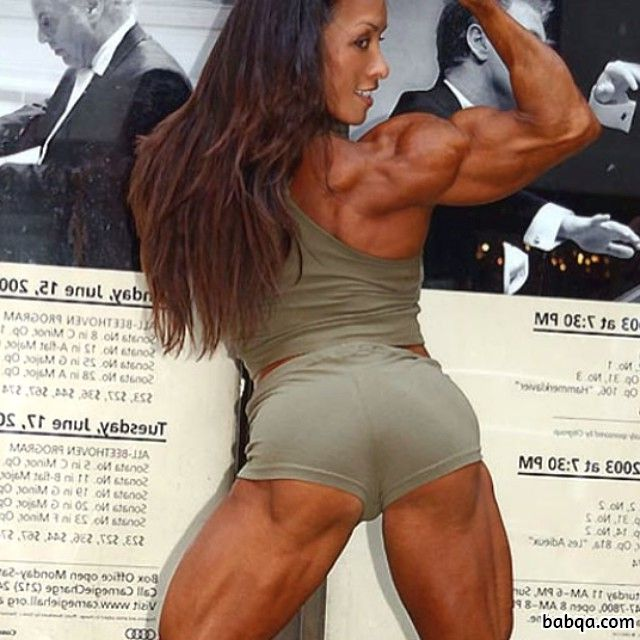awesome lady with strong body and toned legs photo from flickr