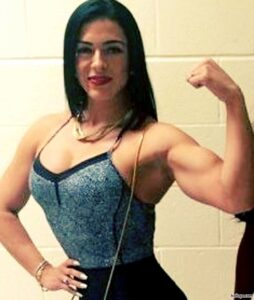 awesome girl with muscular body and muscle bottom repost from tumblr