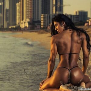 awesome chick with strong body and muscle ass image from flickr