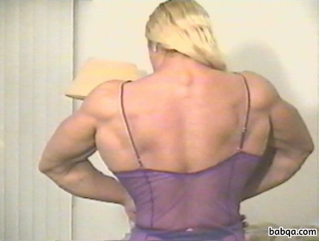 spicy lady with muscle body and toned booty pic from flickr