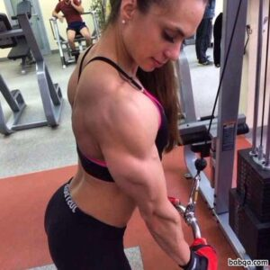 awesome lady with muscle body and toned ass image from reddit