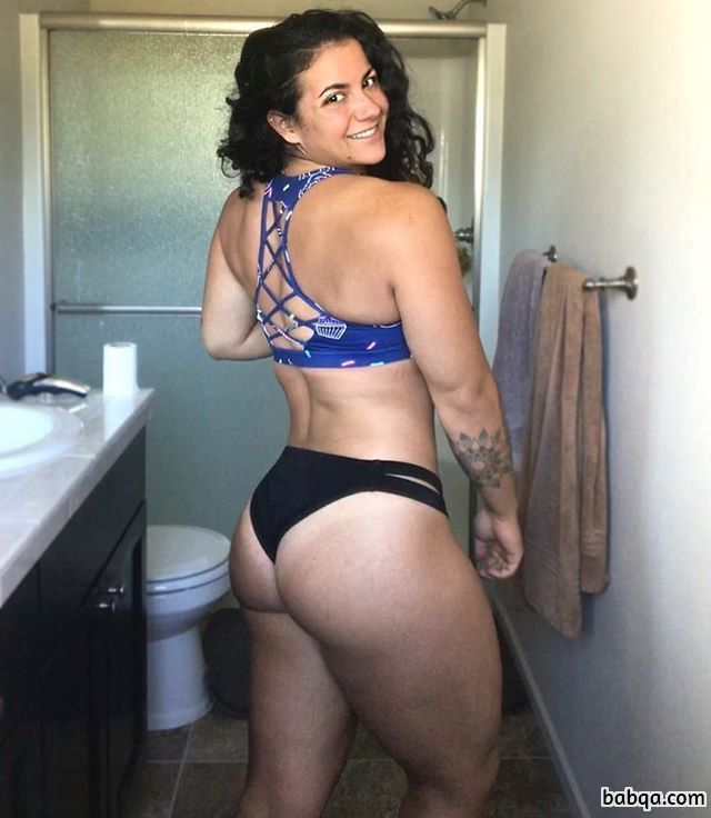 hottest female bodybuilder with muscular body and muscle biceps post from tumblr