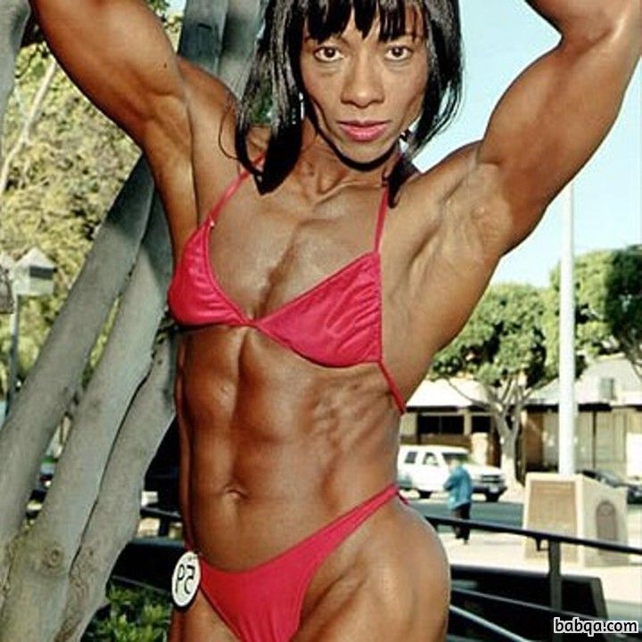 awesome female bodybuilder with muscle body and muscle ass post from g+