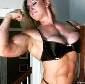 hottest chick with muscular body and toned bottom post from flickr