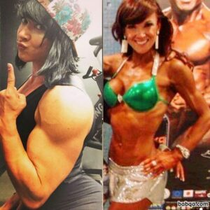 hottest female bodybuilder with muscle body and muscle legs picture from instagram