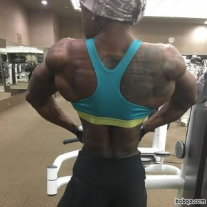 spicy female with fitness body and muscle ass repost from linkedin