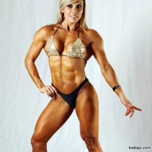 awesome woman with strong body and toned arms post from linkedin