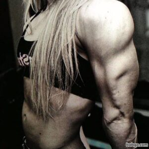 beautiful female with strong body and muscle ass picture from g+