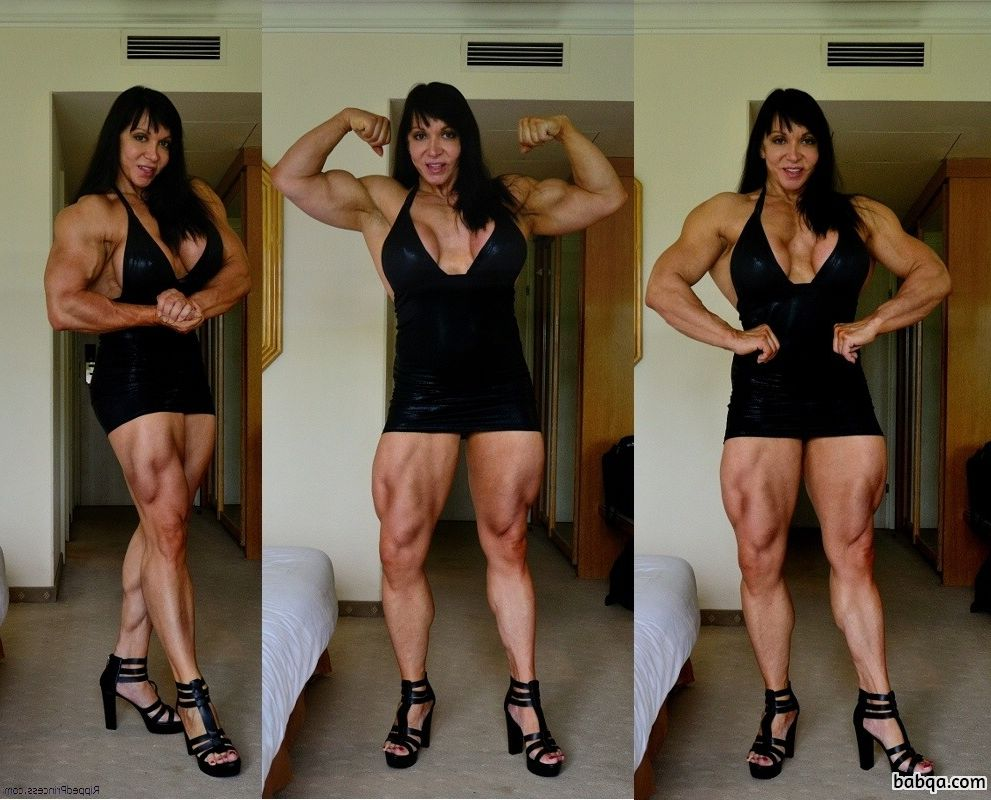 hottest woman with fitness body and muscle arms post from reddit