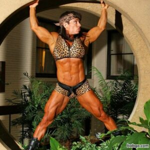 beautiful babe with muscle body and toned biceps repost from facebook