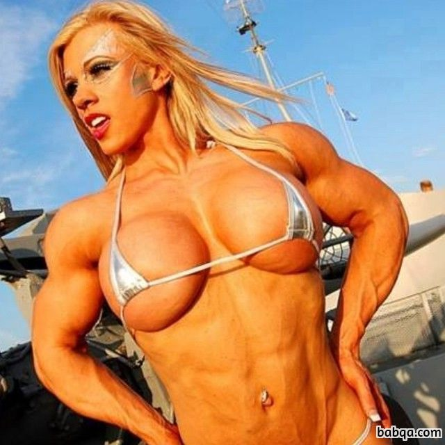 sexy female with muscular body and toned bottom repost from flickr