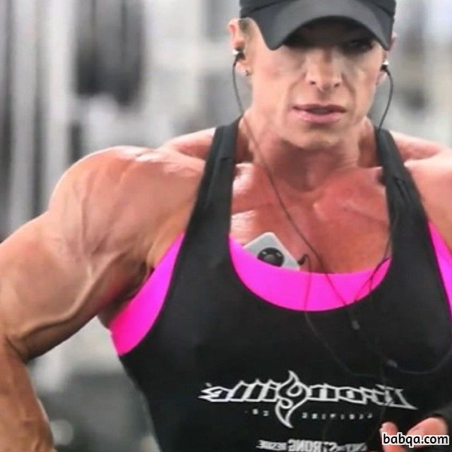 hottest woman with strong body and muscle bottom pic from reddit