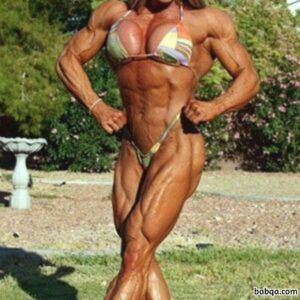 hottest female with fitness body and toned biceps pic from facebook