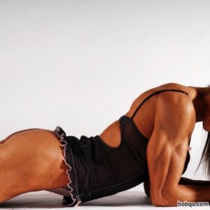 sexy female with strong body and muscle ass image from facebook