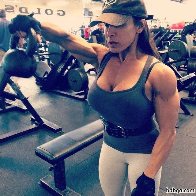 hottest woman with muscle body and muscle legs repost from facebook