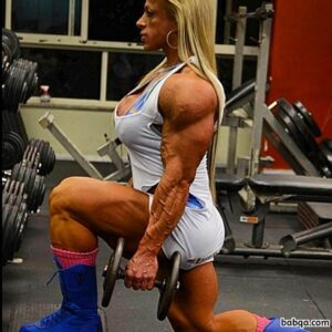 perfect woman with strong body and muscle legs image from reddit