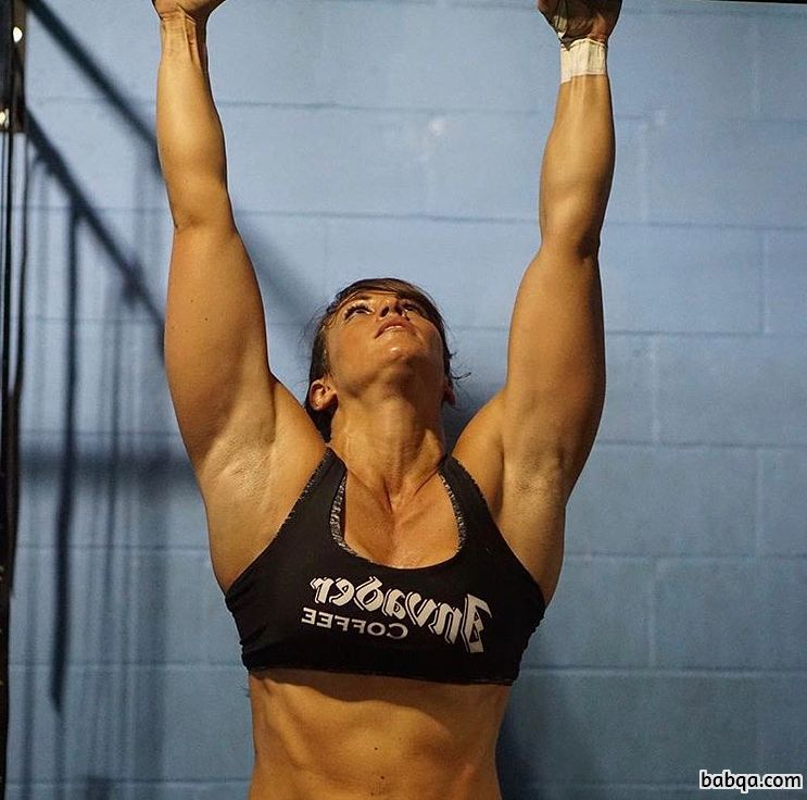 perfect female bodybuilder with fitness body and toned biceps photo from linkedin