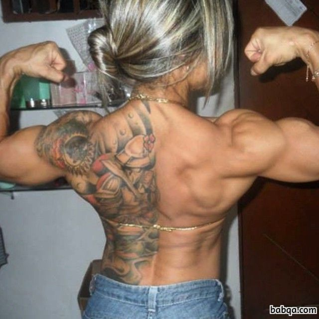 hottest lady with strong body and toned arms photo from tumblr