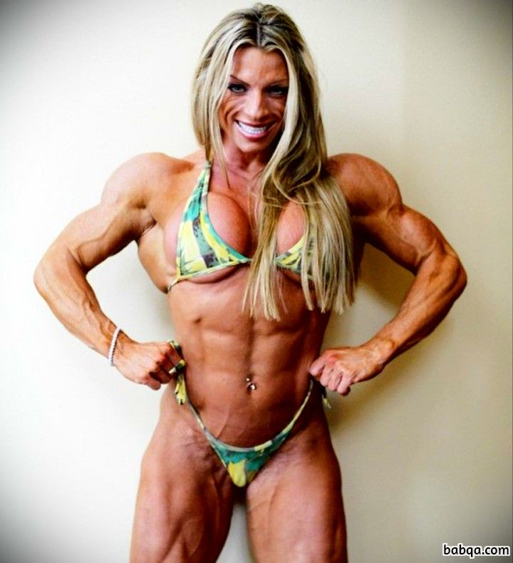 awesome woman with muscle body and muscle legs image from g+