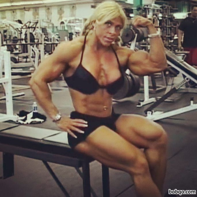 spicy girl with muscle body and muscle bottom image from tumblr